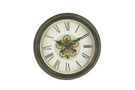 24 Inch Warrior Gear Wall Clock