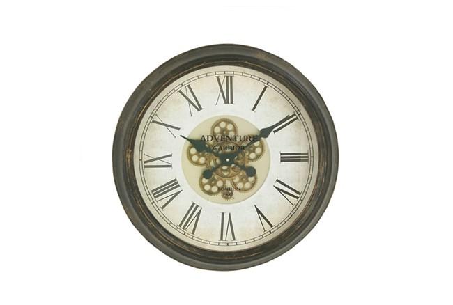 24 Inch Warrior Gear Wall Clock - 360