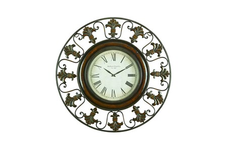 38 Inch Madison Wall Clock - Main