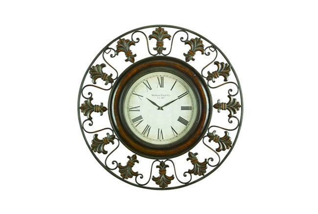 38 Inch Madison Wall Clock - 360