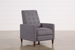 Darcy Slate High Leg Recliner