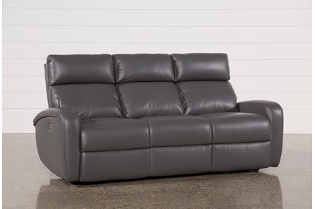 Darwin Graphite Power Reclining Sofa - Main