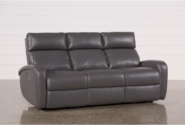 Darwin Graphite Reclining Sofa 360