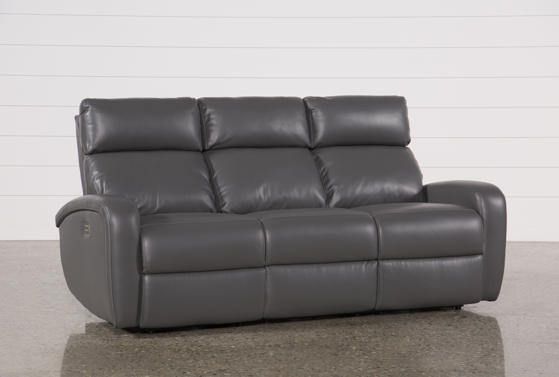 Display Product Reviews For DARWIN GRAPHITE POWER RECLINING SOFA