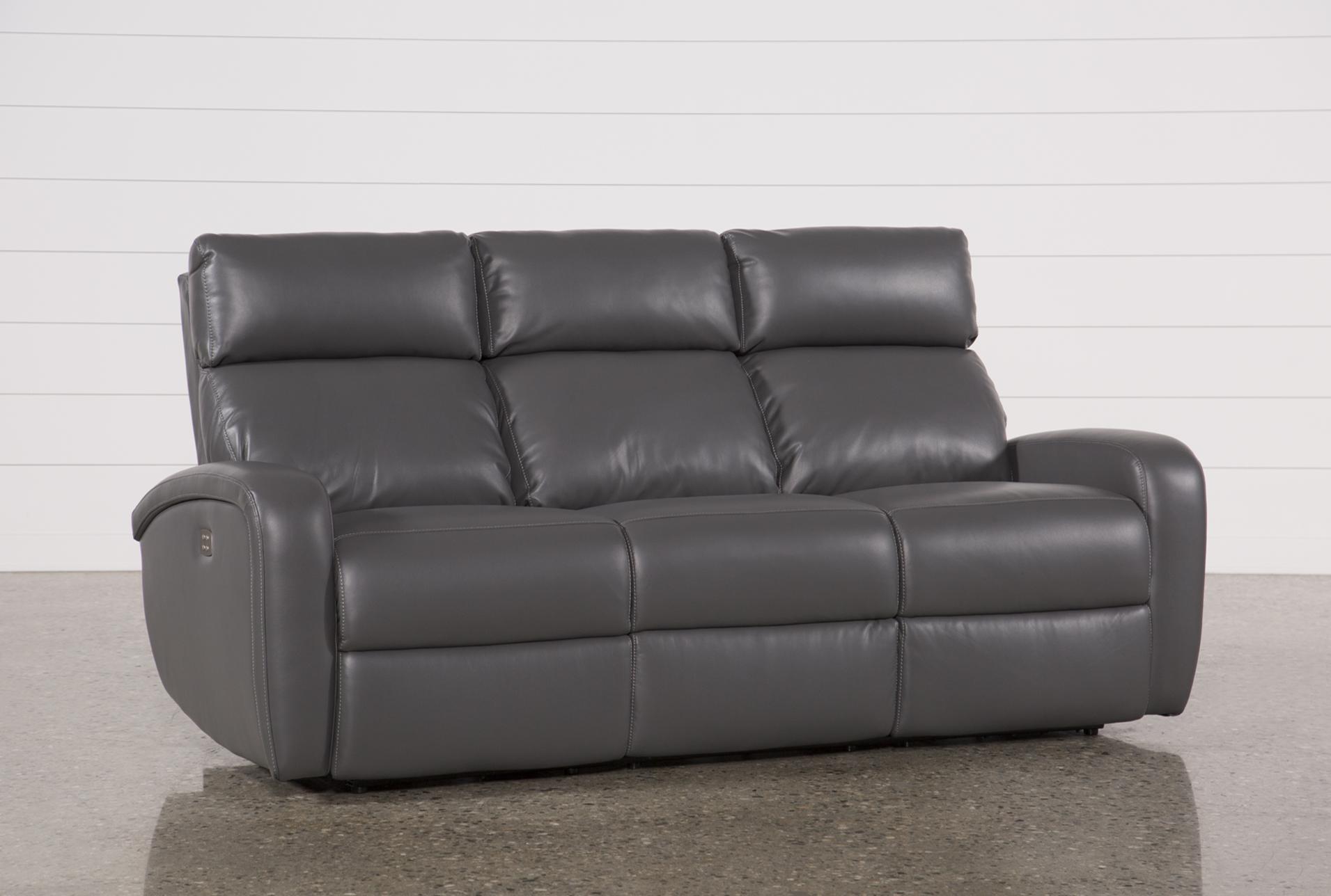 Darwin Graphite Power Reclining Sofa
