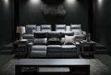 Darwin Graphite Power Reclining Sofa - Room