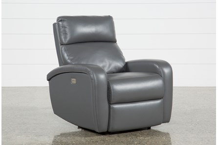 Darwin Graphite Power Wallaway Recliner - Main