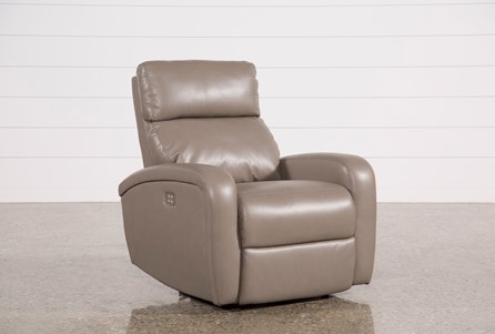 Darwin Taupe Power Wallaway Recliner