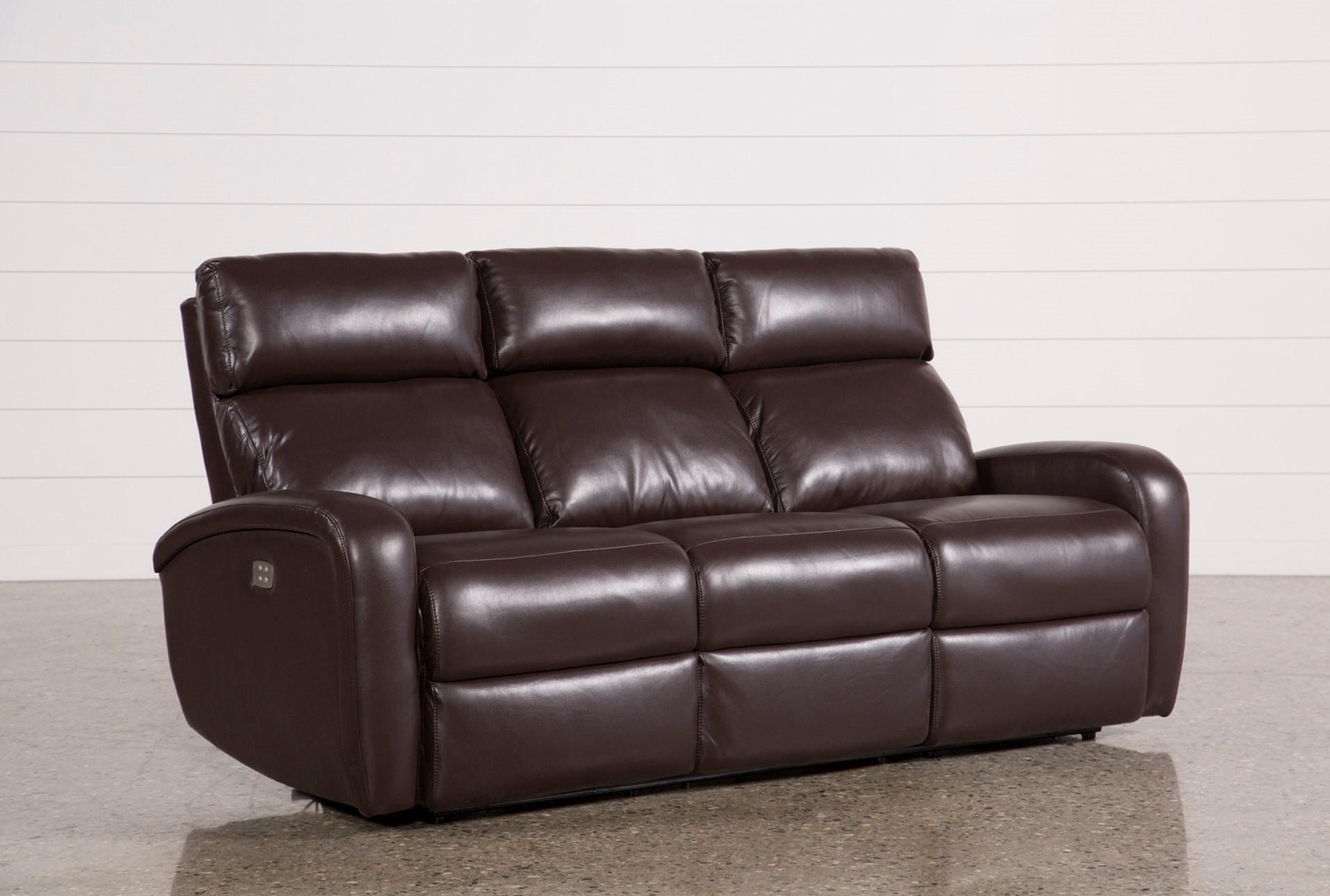 Jaden Fabric Power Reclining Sofa Living Spaces ~ Rooms To Go Reclining Sofa