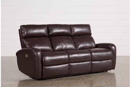 Darwin Chocolate Power Reclining Sofa - Main