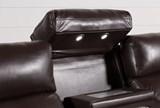 Darwin Chocolate Power Reclining Sofa - Top