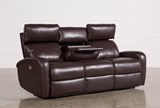 Darwin Chocolate Power Reclining Sofa - Right