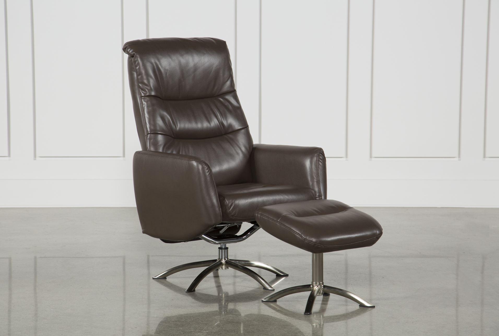 Marcel Cattail Reclining Chair U0026 Ottoman   360