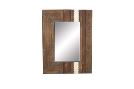 36 Inch Mixed Media Mirror - Main
