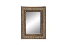 48X36 Traditional Iron Trim Mirror