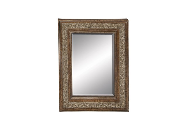 48X36 Traditional Iron Trim Mirror | Living Spaces