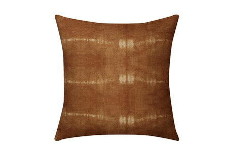 Accent Pillow-Tie Dye Lines Spice 18X18