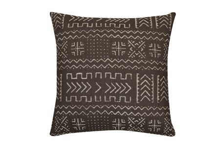 Accent Pillow-Safari Grey 18X18