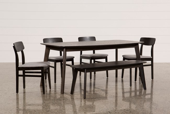 Swift 6 Piece Rectangle Dining Set - 360