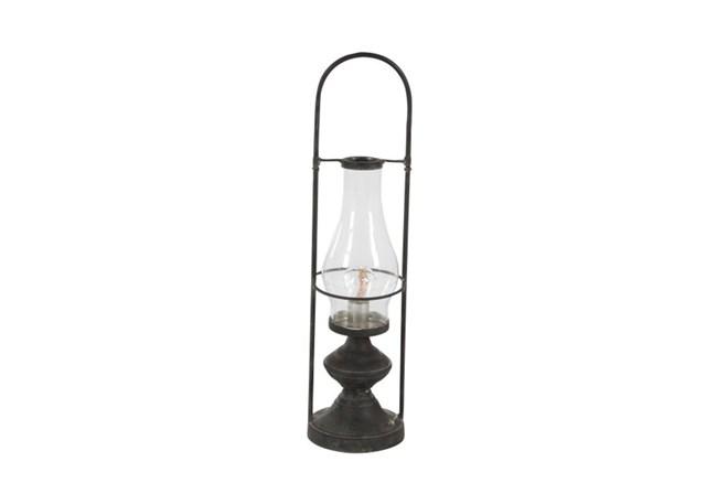 20 Inch Metal Led Lantern - 360