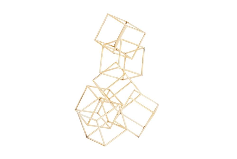 20 Inch 3D Gold Sculpture