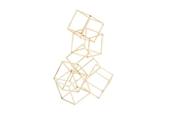 20 Inch 3D Gold Sculpture - 360
