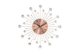 15 Inch Glam Copper Wall Clock