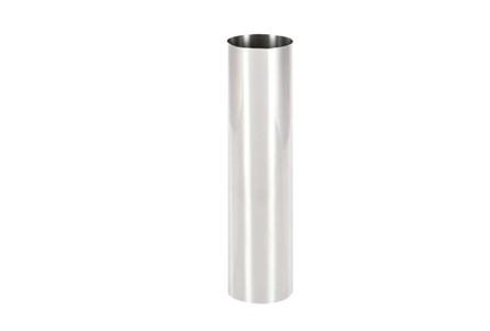 16 Inch Silver Smooth Vase