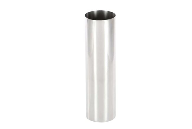 14 Inch Silver Smooth Vase - 360
