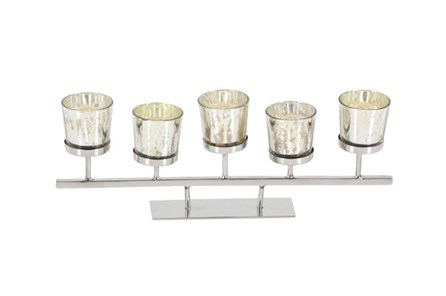 5 Inch Mercury 6-Votive Holder - Main