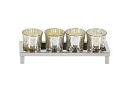 3 Inch Steel Glass Votive Holder