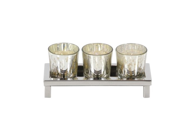 2 Inch 3-Votive Holder - 360