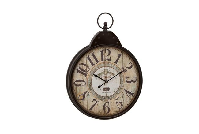 28 Inch London  Rustic Wall Clock - 360