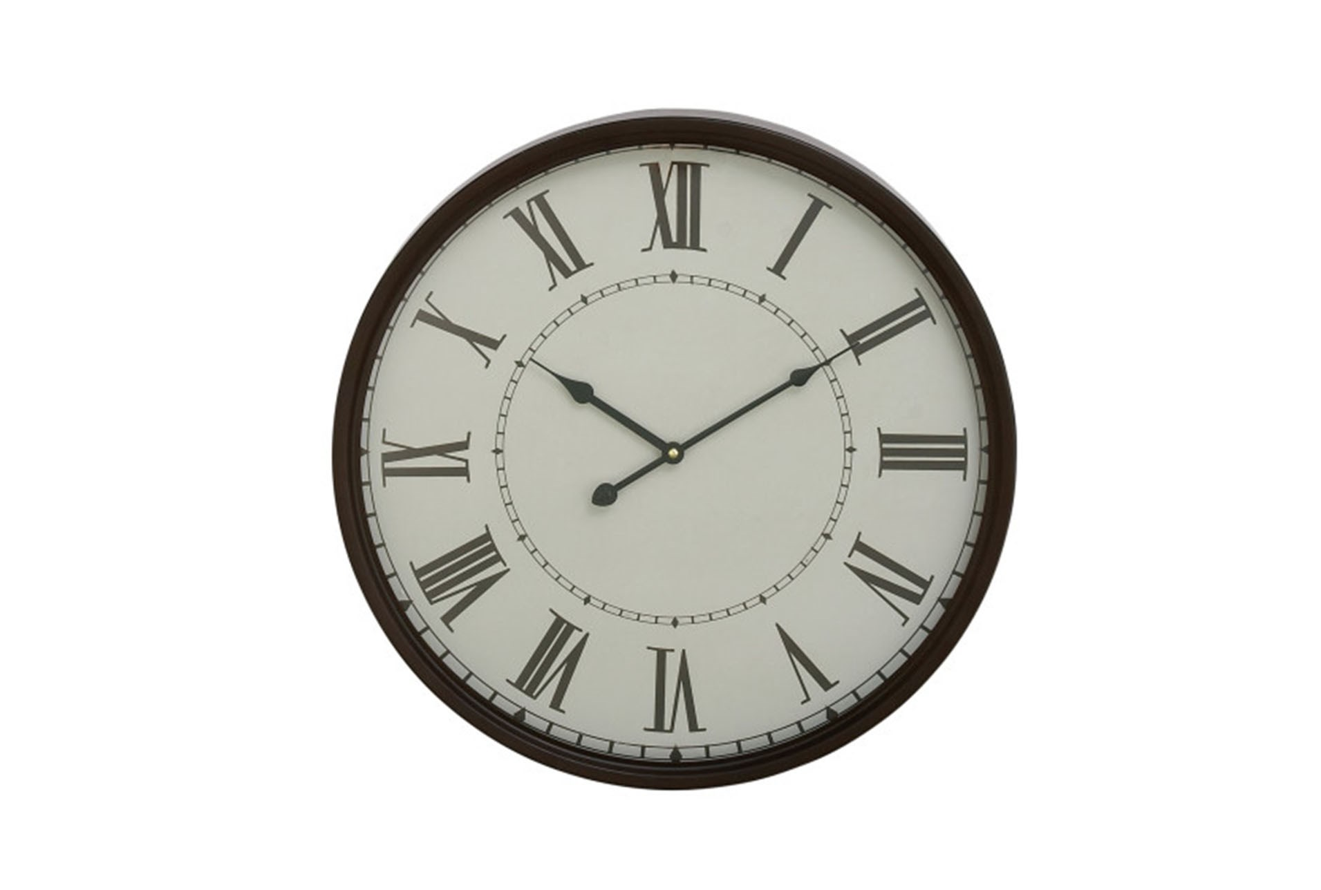20 Inch Roman Numeral Wall Clock Qty 1 Has Been Successfully Added To Your Cart