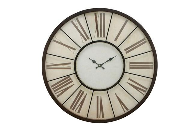 27 Inch Roman Numeral Wall Clock - 360
