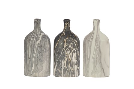 13 Inch Marble Finish Bottle - Main