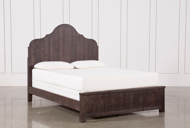 Camille Eastern King Panel Bed - 360