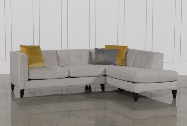Avery 2 Piece Sectional W/Raf Armless Chaise - 360