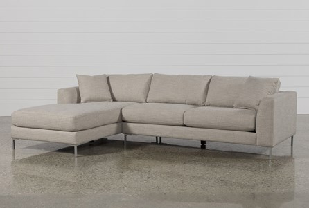 Stella 2 Piece Condo Sectional W/Laf Chaise