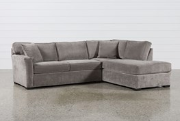 Aspen 2 Piece Sleeper Sectional W/Raf Chaise
