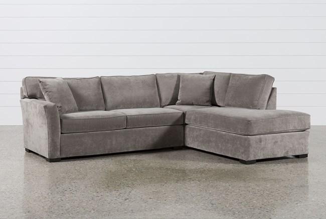 Aspen 2 Piece Sleeper Sectional W/Raf Chaise