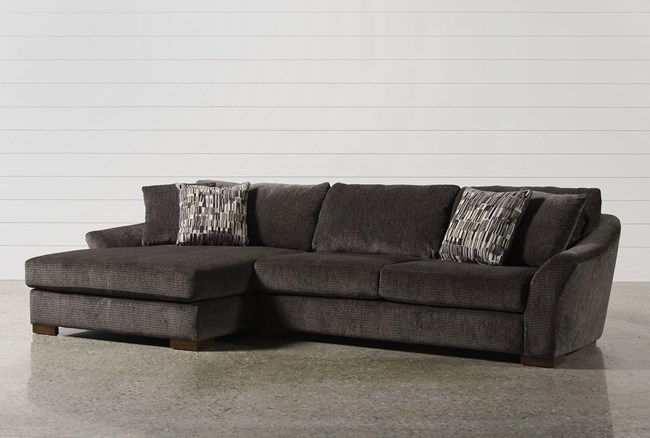 Evan 2 Piece Sectional W Laf Chaise