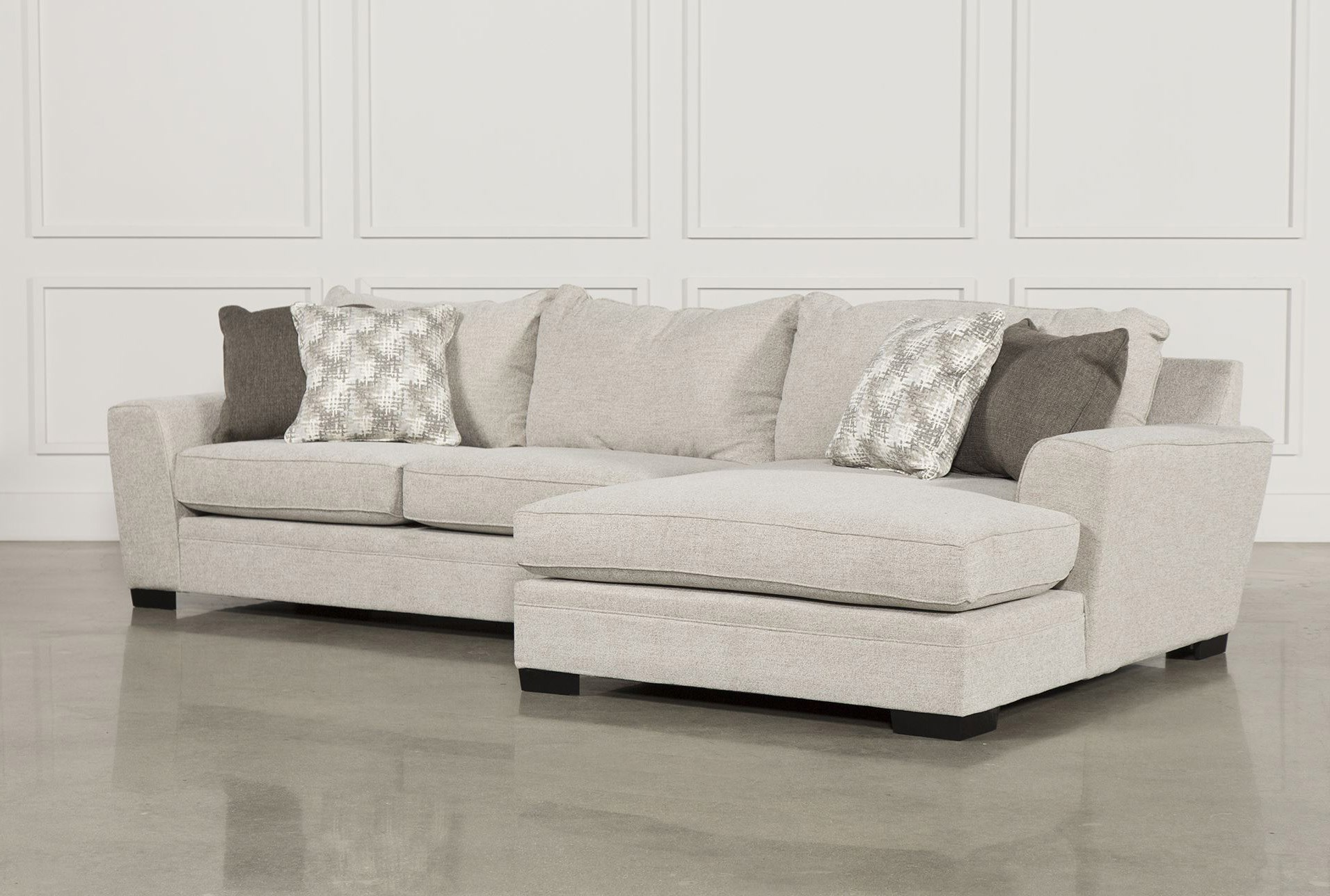Delano 2 Piece Sectional W Raf Oversized Chaise