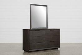Pierce Espresso Dresser/Mirror
