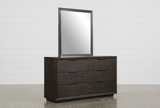 Pierce Espresso Dresser/Mirror - 360
