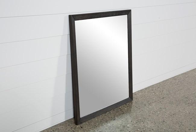 Pierce Espresso Mirror - 360