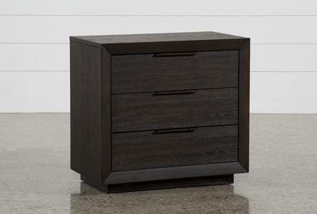 Pierce 3-Drawer Nightstand With USB and Power Outlets