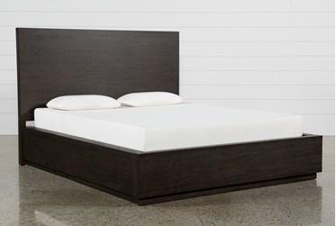 Pierce Espresso Queen Panel Bed