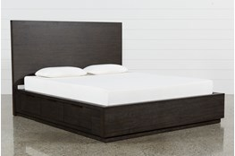 Pierce Queen Panel Bed W/Storage