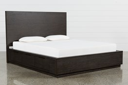 Pierce Eastern King Panel Bed W/Storage
